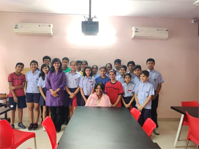Cultural Exchange  Interaction with Ms Judith Brown