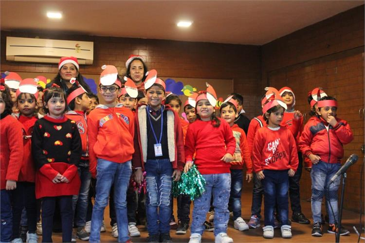 Joyful Learning - class I A and B on 23rd December 2019