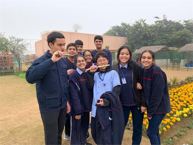 Educational Trip to Pratabgarh Farm on 24th December 2019