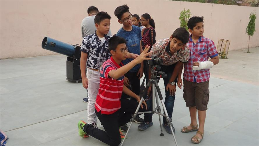 EVENING SKY OBSERVATION - ASTRONOMY CLUB 19.05.2018