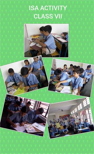 ISA ACTIVITY FOR JULY - CLASS VII