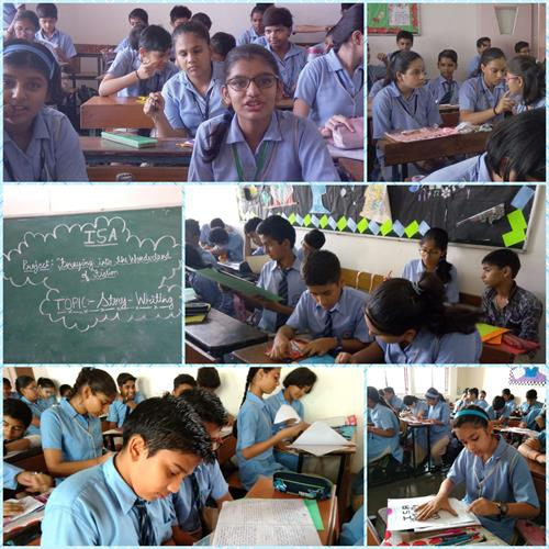 ISA ACTIVITY FOR JULY - CLASS VIII