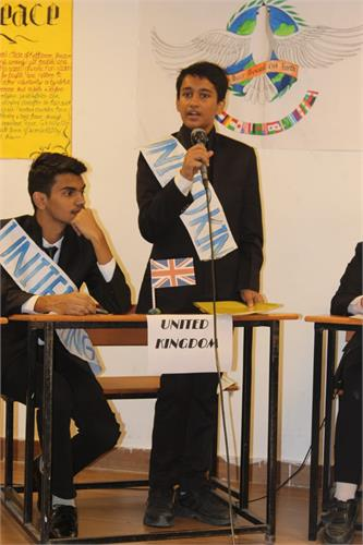 ISA ACTIVITY FOR AUGUST AND SEPTEMBER - MOCK PARLIAMENT FOR THE STUDENTS CLASS  XI