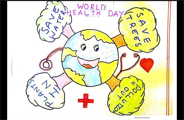 CELEBRATION OF WORLD HEALTH DAY-07.04.2021