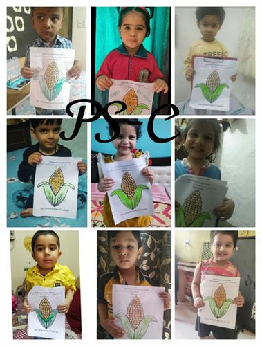 BAISAKHI / YELLOW COLOUR ACTIVITY 2021 - NURSERY