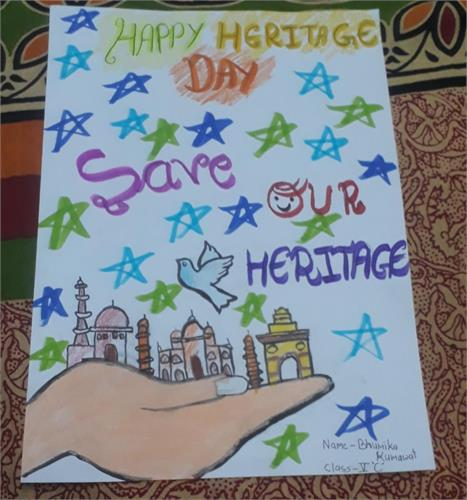 CELEBRATION OF WORLD HERITAGE DAY  - 18.04.2021