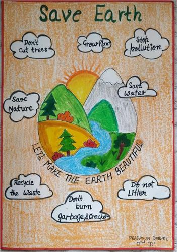 EARTH DAY POSTER MAKING