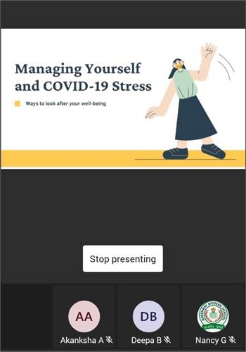 COUNSELING SESSION :  YOU MATTER – THE WELLNESS CONFAB