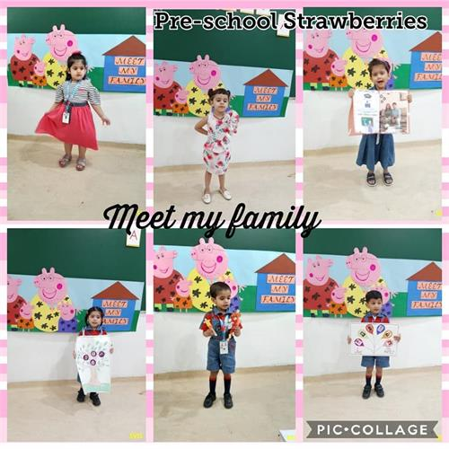 Pre-School : My Family Activity