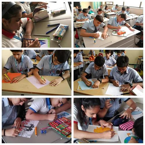 Slogan Writing, Poster Making & Painting Competition on Water Conservation