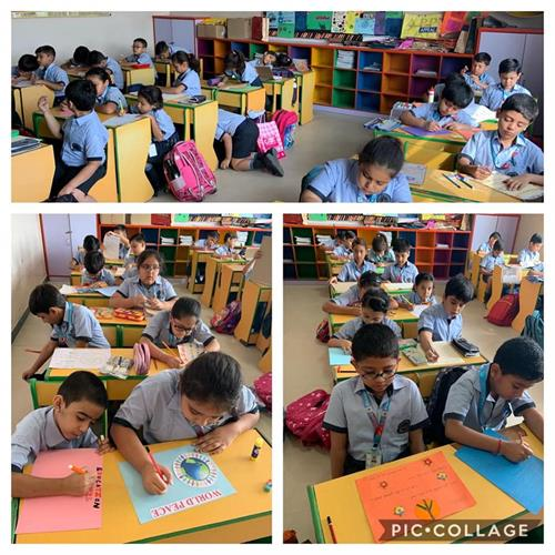 Class III : Slogan Writing Activity