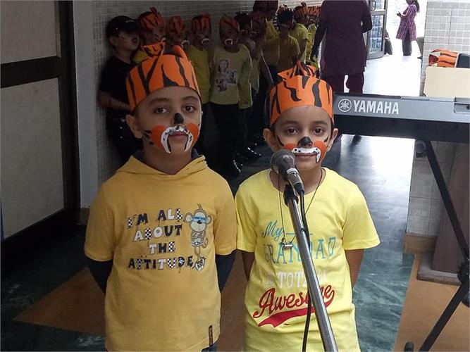 Class I: The International Tiger Day Celebration