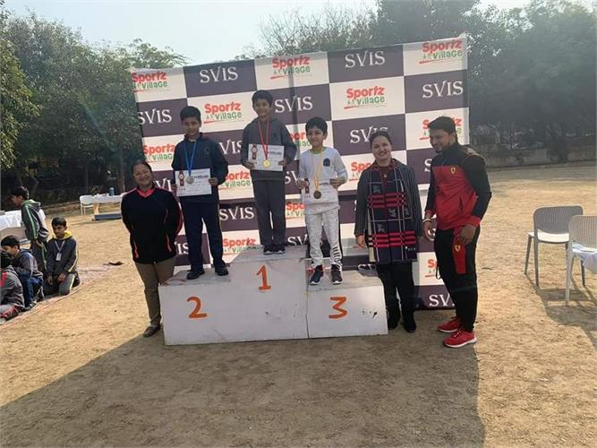Class IV: Annual Sports Day