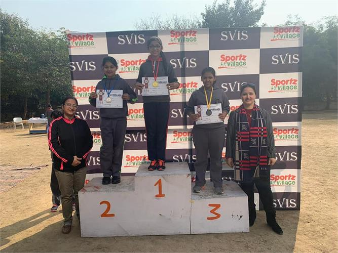 Champions of the Sports Day: Class V