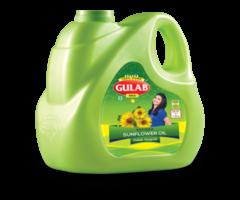 Sunflower Oil - Best Organic Sunflower Oil In India At Gulaboils - Image 1/2