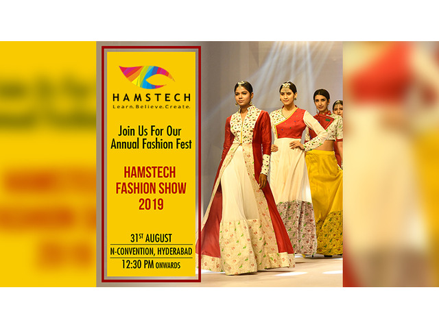 Watch Splendid Artsy Themes At Hamstech Fashion Show 2019 Hyderabad Buy Sell Used Products Online India Secondhandbazaar In