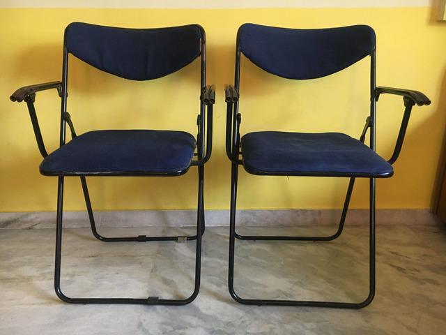 Foldable Study Table Chair Set - 1/3