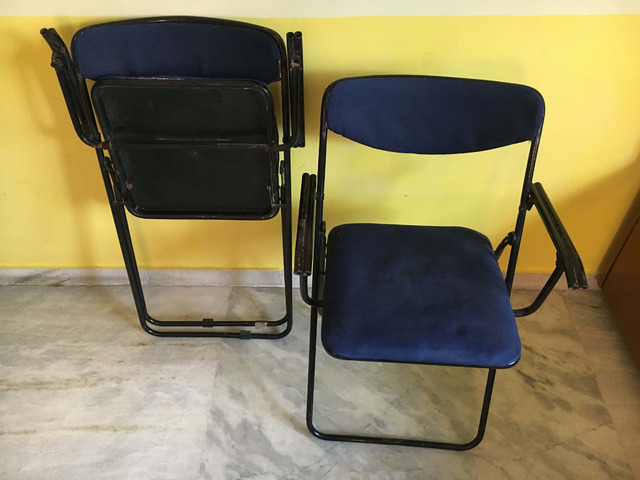 Foldable Study Table Chair Set - 2/3
