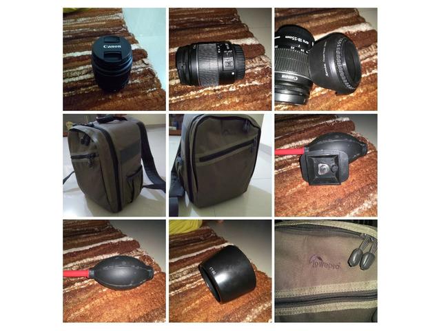 Canon 60D +18-55 + 75-300 lense - 1/2