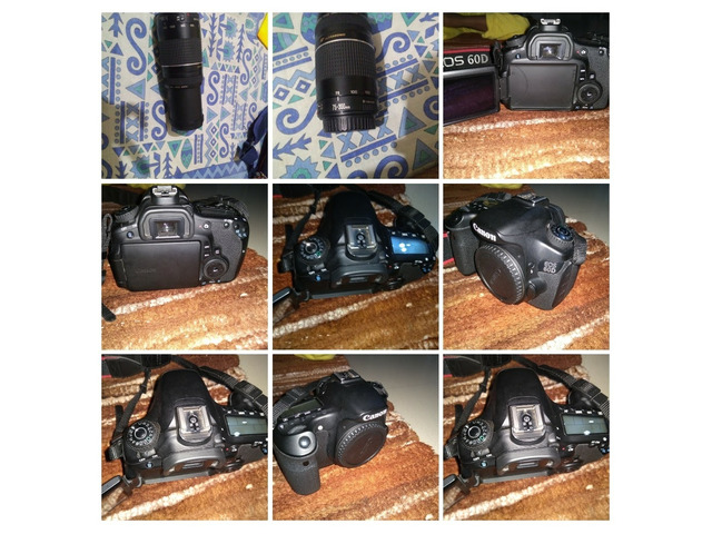 Canon 60D +18-55 + 75-300 lense - 2/2