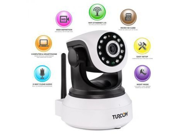 360 Auto-Rotating Wireless CCTV Camera (Lowest Price Online) - 1/1