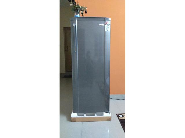 Croma Single door refrigerator lightly used on sell ...
