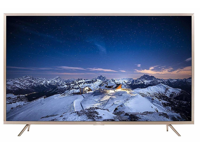TCL 109.3 cm (43 inches) 4K Ultra HD Smart LED TV L43P2US (Golden) - 1/9