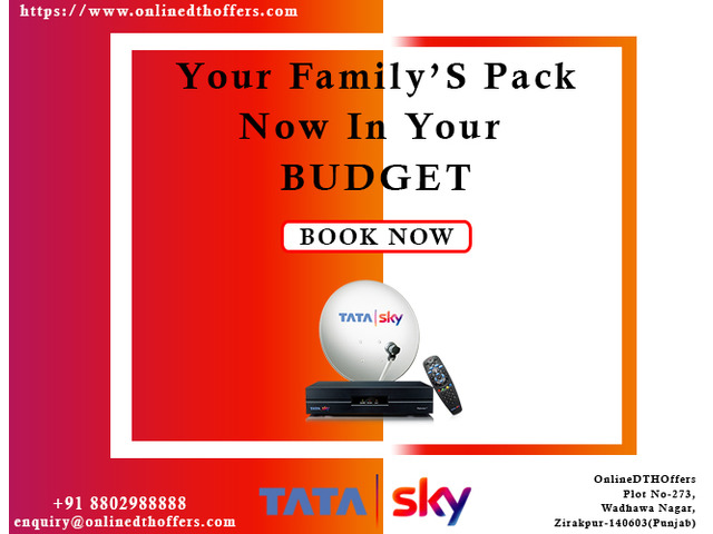 TATASKY- Best DTH Services in India - 1/1