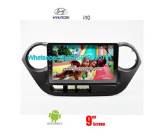Hyundai i10 car audio radio android wifi GPS navigation camera - Image 1/4
