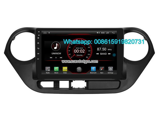 Hyundai i10 car audio radio android wifi GPS navigation camera - 2/4