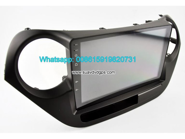 Hyundai i10 car audio radio android wifi GPS navigation camera - 3/4