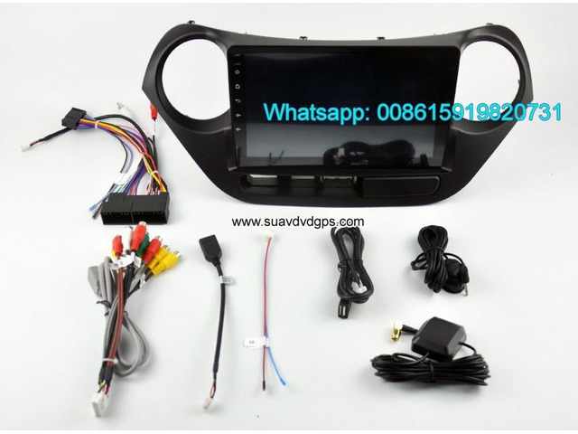 Hyundai i10 car audio radio android wifi GPS navigation camera - 4/4
