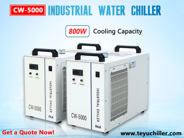 Water Chiller CW5000 for Non Metals Laser Cutters - 1/1