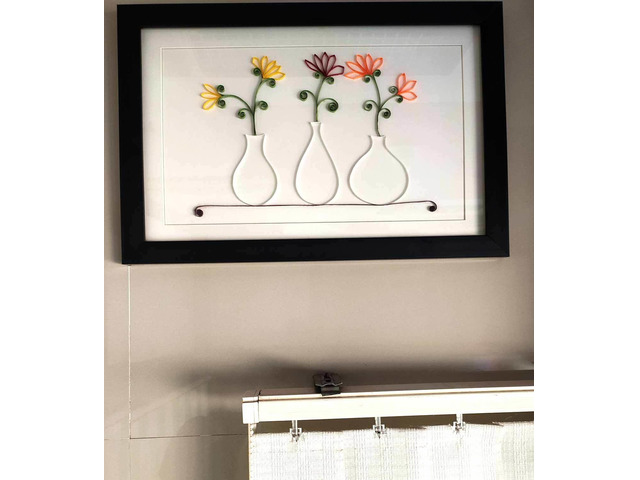 Unique Flower-Port frame for gift to someone special on any Occasion - 1/1