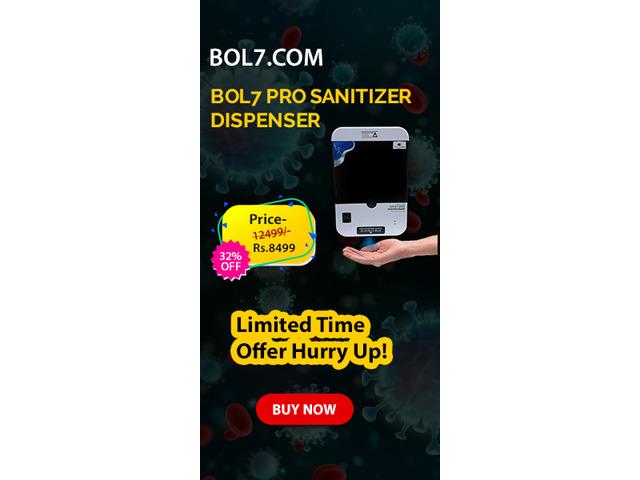 Automatic Hand Sanitizer Dispenser - 4/6