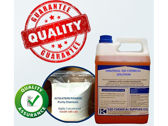 SSD CHEMICAL, ACTIVATION POWDER and MACHINE available FOR BULK cleaning! - 2/7