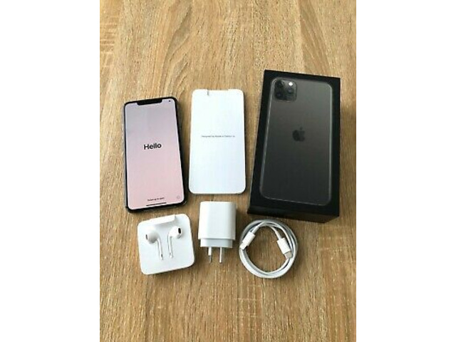 New and original Apple IPhone 11 Pro Max 256GB grey for sale - 3/4