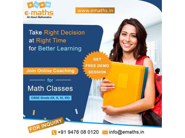 Best Online CBSE Maths Tuition - 1/2