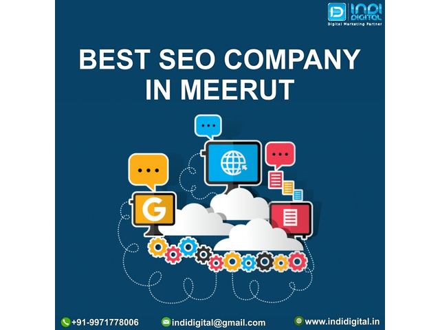 Which is the best SEO company in Meerut - 1/1