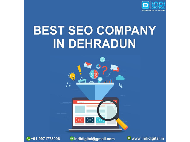 Which is the best SEO company in Dehradun - 1/1