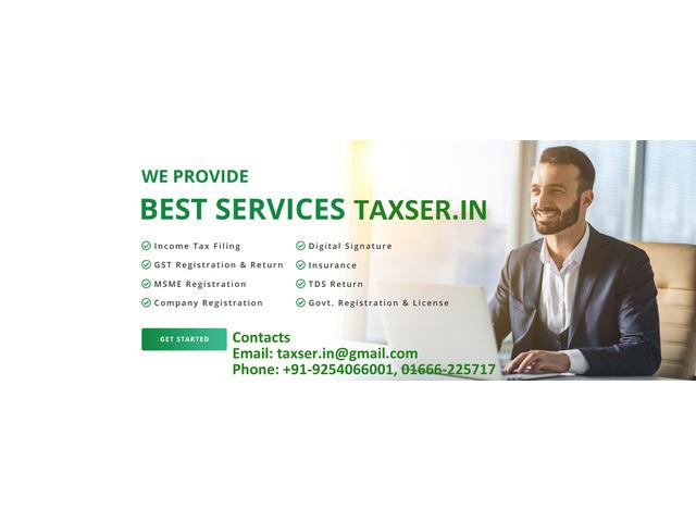 Tax Return service providerin sirsa - 2/10