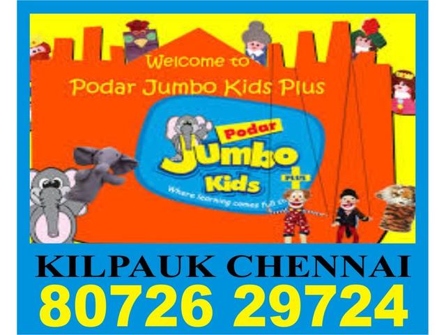 Kilpauk Eyfs Learning   8072629724   1237   Chennai Podar Jumbo Kids Plus - 1/1