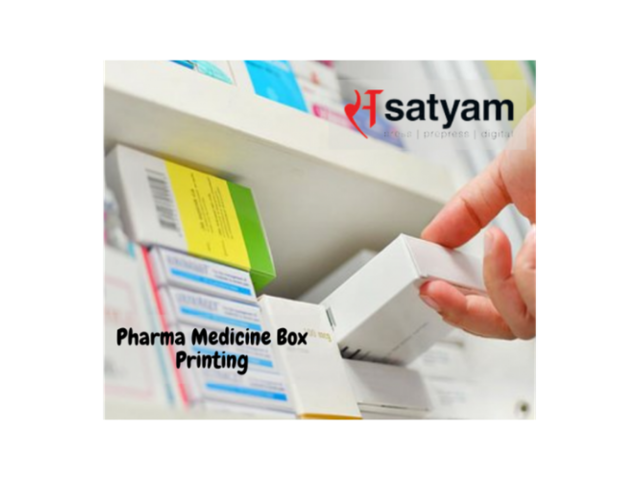 Pharmaceutical Box Printing - 1/1