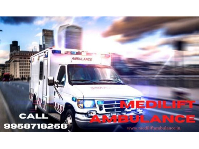 Advanced Life-Support Ambulance Service in Ranchi by Medilift - 1/1