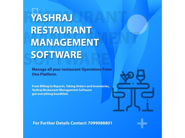 Top 5 Restaurant Management Software in India - 1/1
