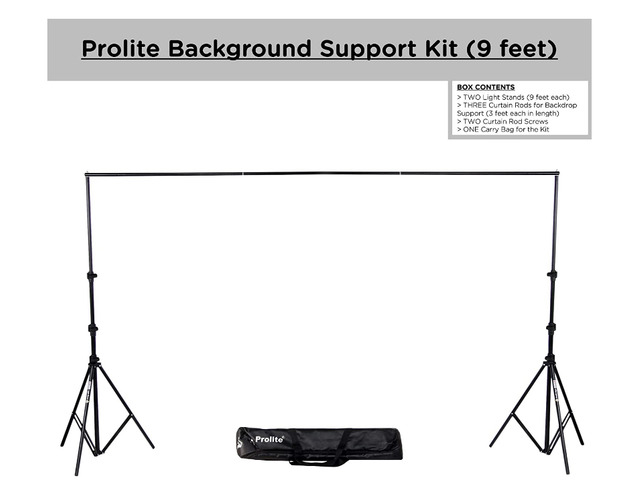 Background Tripod Support - 1/1