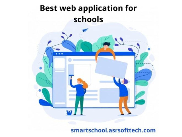 Best school mobile and web application development company. - 1/1