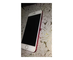 IPHONE 7, RED/WHITE, 128GB, SCRATCHLESS, WITH CHARGER AND BOX - Image 2/5