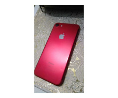 IPHONE 7, RED/WHITE, 128GB, SCRATCHLESS, WITH CHARGER AND BOX - Image 5/5