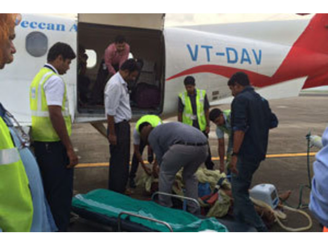 Get Low-cost Air Ambulance Services : Call 9870001118 - 4/4